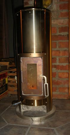 The Kimberly free standing, solid fuel burning stove combines distinctive, sleek stainless steel with traditionally-inspired aesthetics creating a high-tech heating solution for your small space. These highly efficient stoves were originally designed to make a cold, wet boat cabin warm and cozy. The designer succeeded with a stove that will keep you warm anywhere you want to take it.