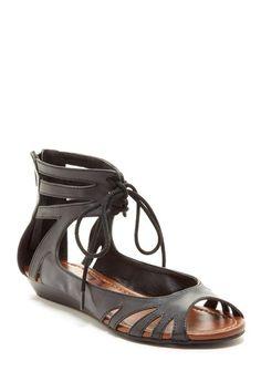 Jules Lace-Up Sandals