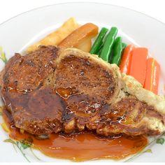 【食品サンプル】ビーフステーキ【洋食】 - fake food HATANAKA - 食品サンプルの畑中