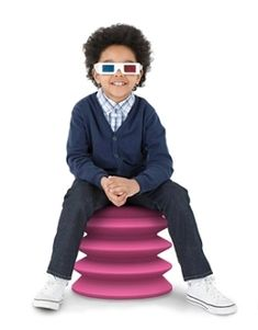 Ergo Ergo Chair is a better alternative to sitting on a yoga ball. For kids and adults.