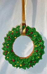 Cookievonster Christmas wreath.