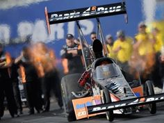 That's my little brother, Clay Millican. NHRA Arizona Nationals