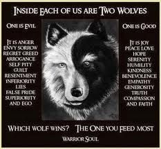native wolf quote - Google Search