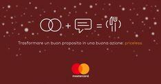 Propositi per il 2018? Trasformali in una buona azione, con Mastercard diventano un piatto caldo per Caritas. #buonipropositiMastercard #ad