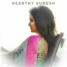 Keerti Suresh, Beautiful Indian Actress, Indian Actresses, Selena, Sari, Cute, Kitty, Album, Women