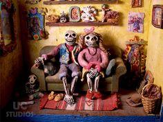Dia De Los muertos UC Studios Canon PRINT 224 by lizzyfink on Etsy