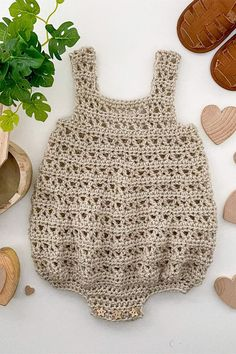 This crochet pattern is suitable for beginners and is part of a collection of modern crochet patterns for babies and children.. available for instant download today #crochet #crochetbaby #crochetpattern #moderncrochet #babycrochet #crochetforbaby Modern Crochet Patterns, Crochet Patterns For Beginners, Baby Patterns, Baby Girl Crochet, Dk Weight Yarn, New Baby Gifts, New Baby Products, Pattern Design, Romper