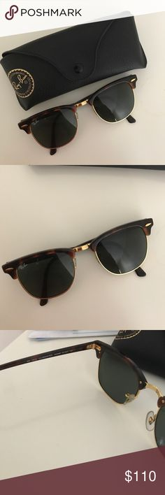 Ray-Ban Club Masters Gently used Ray-Ban Accessories Sunglasses