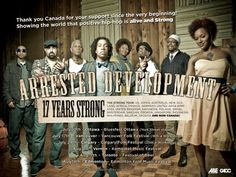 Half page news paper advertisement thanking our incredible fans in CANADA for 17 years of Life Music! #ArrestedDevelopment #ADtheBand