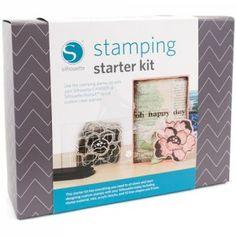Silhouette Stamping Starter Kit - Stempel