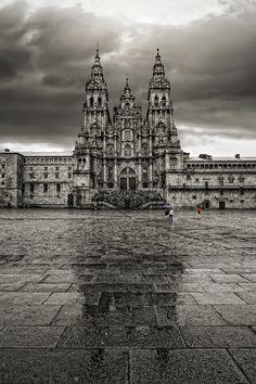 Kompostelako Katedrala - Catedral de Santiago de Compostela.