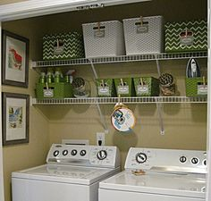 Get inspired laundry room makeover ideas future home ideas 20 diy laundry room projects solutioingenieria Images