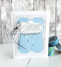 Get Well Soon Card by Danielle Flanders for Papertrey Ink (April 2016)