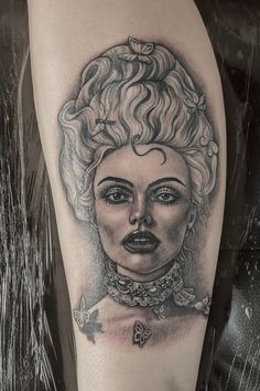 """My tattoo inspired by Illamasqua´s """"Once"""" campaign. Artist: Melissa Szeto from """"Love Hate Social Club"""" based in Notting Hill London http://www.melszeto.com/ / This amazing artist did an original drawing and tattoo based on a makeup created by Alex Box. Model: Georgie Hobday."""