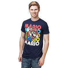 Super Mario Flying Free T-Shirt | ThinkGeek