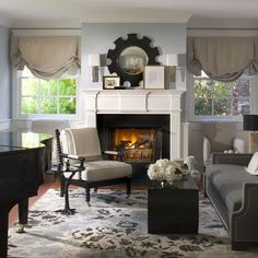 Small Living Room - Upright Piano Design Ideas, Pictures, Remodel, and Decor - page 6