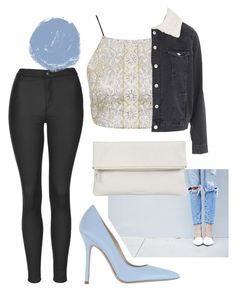 """Untitled #1792"" by moria801 ❤ liked on Polyvore featuring Topshop, Whistles and Norma J.Baker"