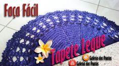 Tapete de Crochê Leque  (FÁCIL)