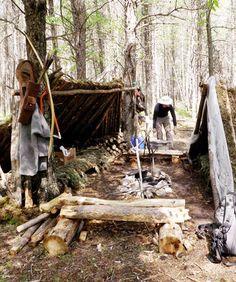 bushcraft | Borealis Bushcraft camp