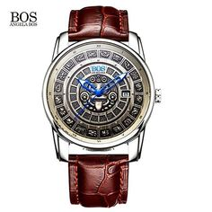 Outstanding timepiece with Maya's calendar!!