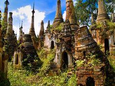Insolite Village médiéval au Myanmar (9)