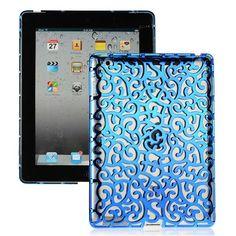 Rose Lines (Blå) iPad 3-Skal