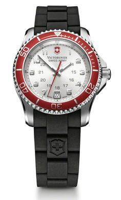 Victorinox Swiss Army Maverick GS  Quartz Women's Watch, Stainless Steel, Silver Dial