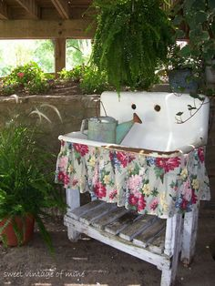 Love these old sinks