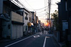 Setagaya Sunset by Leonard Lin