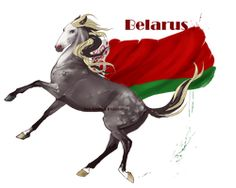 Horse Hetalia:  Belarus by MUSONART