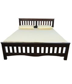 Vintage Queen Bed, Wenge, http://www.snapdeal.com/product/vintage-queen-bed/415941948