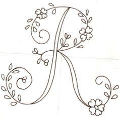 Descargar letras para bordar a mano gratis - Imagui
