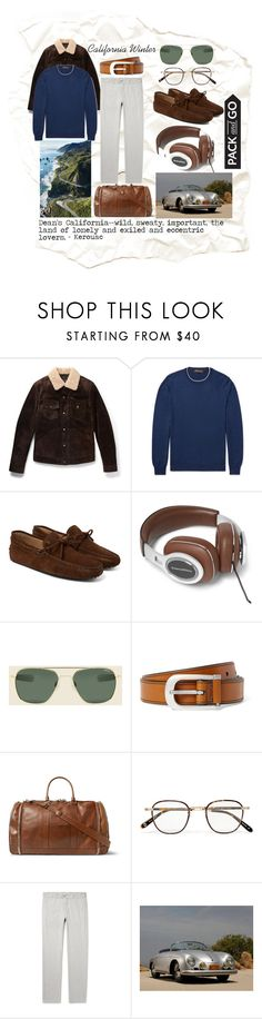 """California weekend"" by maninaustin ❤ liked on Polyvore featuring Tom Ford, Loro Piana, Tod's, Brunello Cucinelli, Garrett Leight, men's fashion and menswear"