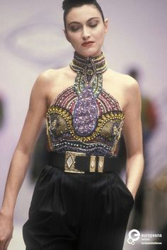 Gianni Versace, Spring/Summer 1990 Couture