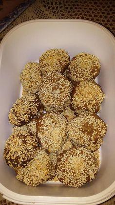 Greek Recipes, Diet Recipes, Recipies, Healthy Recipes, Healthy Cookies, Yams, Cake Cookies, Biscotti, Yum Yum