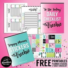 absolutelyalexandria: Did you know that you get FREE printables just for signing up for my newsletter!?!! I usually send out one email a week and you get free printable planner stickers and a daily to do/checklist just for signing up! You also receive a subscriber only FREEBIE every friday!