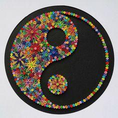 Quilling Mandalas Image R - Origami 3d, Origami And Quilling, Quilled Paper Art, Paper Quilling Designs, Quilling Patterns, Quilling Ideas, Arte Quilling, Quilling Work, Quilling Paper Craft