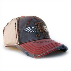 True Religion Shining Wings Ball Cap in Navy