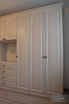 Amenajare completa apartament | Lignaprod Kitchen Cabinets, Decor, Furniture, Tall Cabinet Storage, Home, Storage, Cabinet, Home Decor, Storage Cabinet