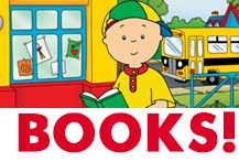 Learn to read with Caillou!