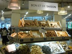 La Grande épicerie - presentation design