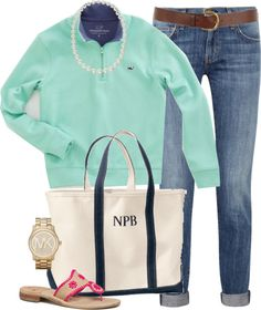 """""""Southern"""" by classically-preppy Preppy Girl, Preppy Style, My Style, Fall Winter Outfits, Autumn Winter Fashion, Summer Outfits, Preppy Outfits, Cute Outfits, Preppy Fashion"""