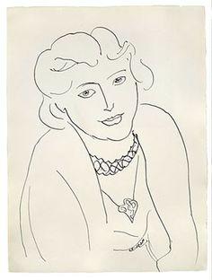Henri Matisse - Portrait of Lydia, 1936