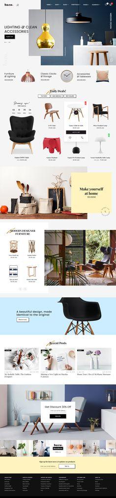 ecommerce creative theme PSD