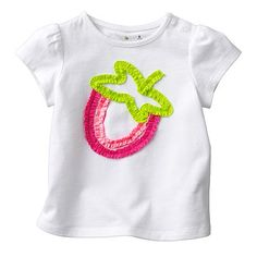 Jumping Beans Strawberry Tee - Baby
