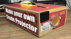 Make your own Crude Projector - YouTube