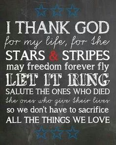 """Zac Brown Band. """"Chicken Fried"""" I thank God for my life and for the stars and stripes. May freedom forever fly. Let it ring. .  ."""