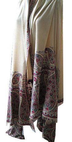 Shawl. Wool and silk. Scotland, circa 1815.