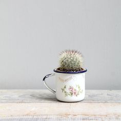 Antique Enamelware Baby Cup by ethanollie on Etsy, $18.00