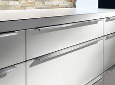 "5 All Kitchen Hardware Handles Modern K. ""Pulls or Knobs for Kitchen Cabinet Hardware Ideas. Kitchen Cabinet Hardware, Modern Kitchen Cabinets, Kitchen Handles, Kitchen Cabinet Design, Kitchen Knobs, Kitchen Modern, Oak Cabinets, Cabinet Knobs, Ikea Design"